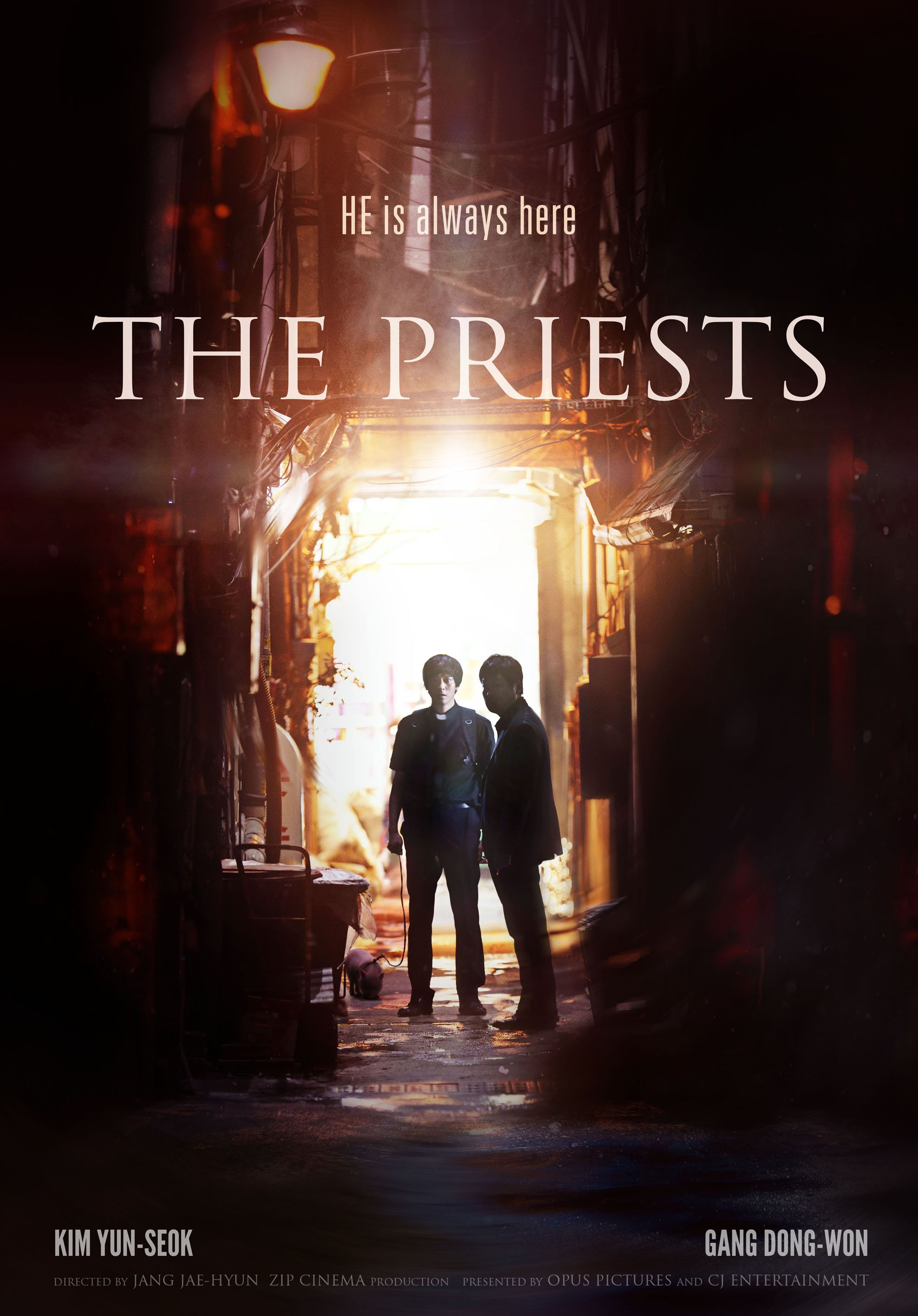 Poster THE PRIESTS 1