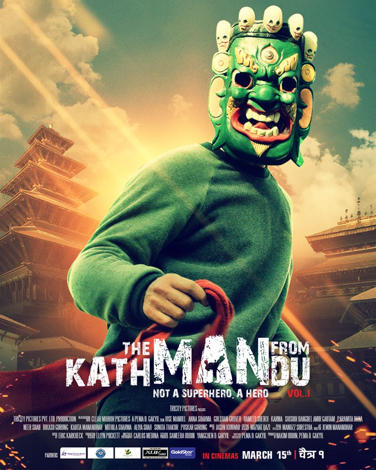 56_THE MAN FROM KATMANDU Poster